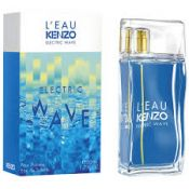 Описание аромата Kenzo Electric Wave Pour Homme